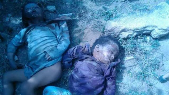 Masacre de niños en una boda en Yemen por Arabia Saudí