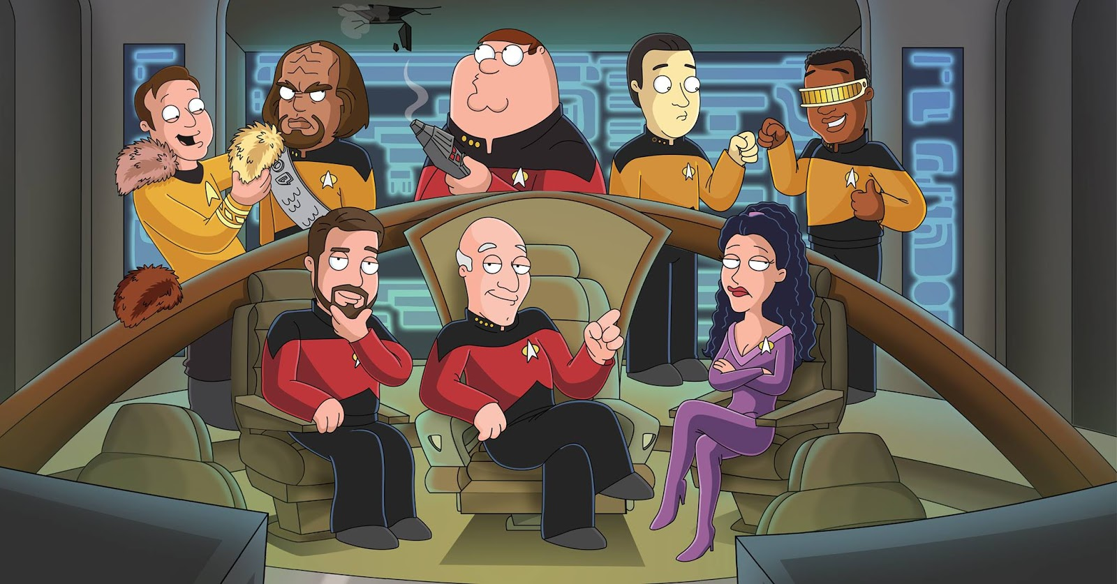 Big Bang Theory Bettwäsche The Trek Collective Family Guy Quests For Stuff On The