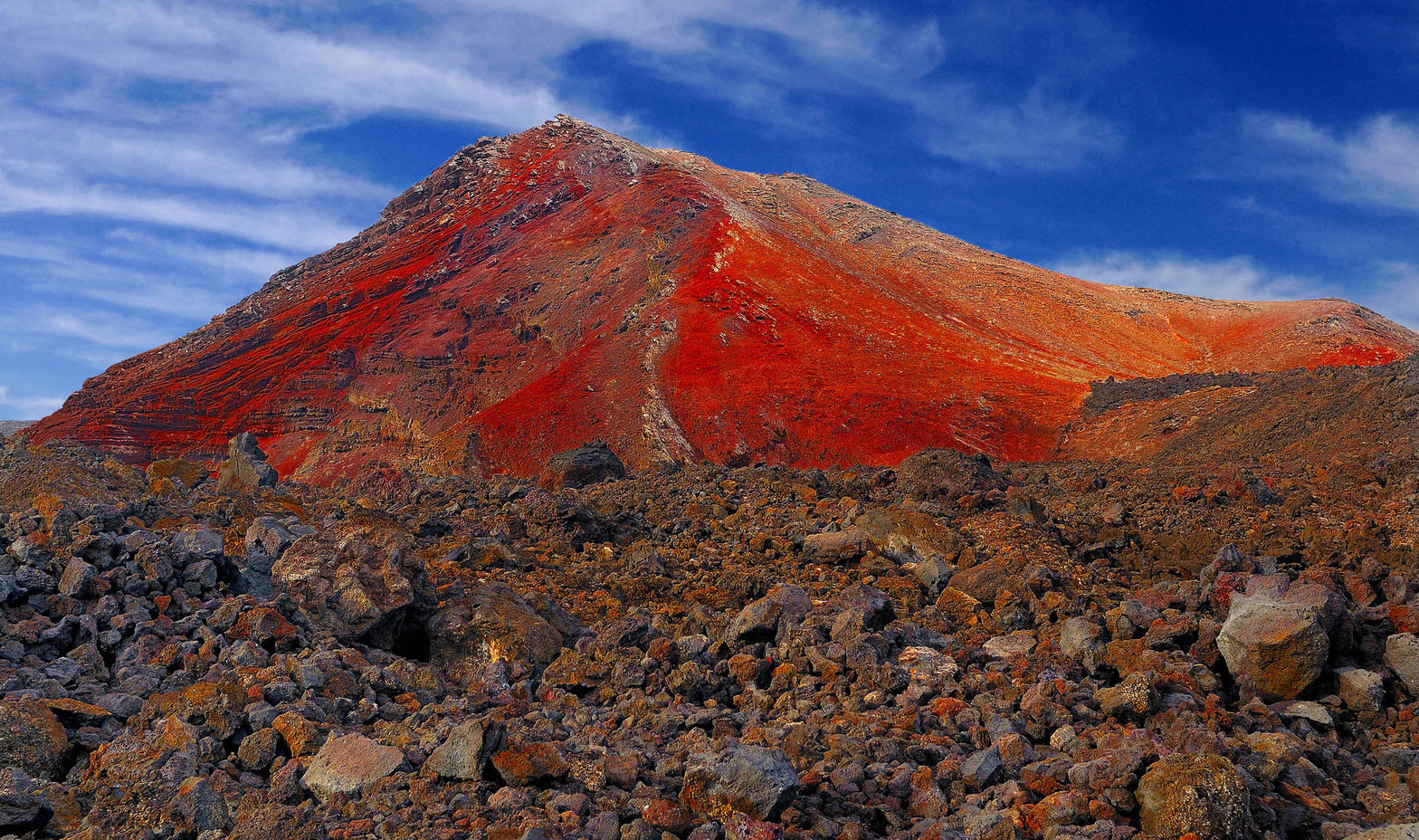 """Fire Mountains"", Lanzarote"