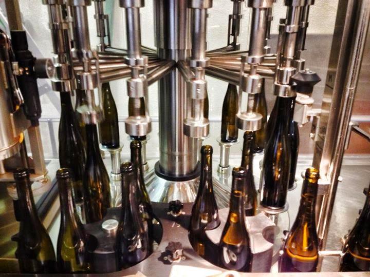 Chaîne de mise en bouteilles