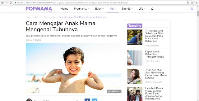 media online untuk mama millenial di indonesia