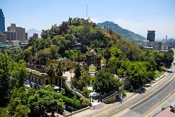 Santa Lucia Hill, Santiago, Chile.