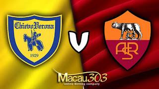 Prediksi Judi Bola Chievo vs AS Roma 20 Mei 2017