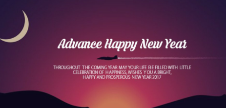 Advance Happy New Year 2017 Wishes Posts - HD wallpaper to download for free: