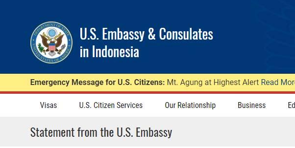 Dubes AS Minta Maaf dan Siap Memfasilitasi Perjalanan Panglima TNI