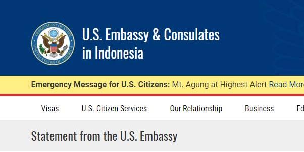 Dubes AS Akhirnya Minta Maaf dan Siap Memfasilitasi Perjalanan Panglima TNI