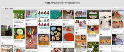 KBN Activities for Preschoolers pinterest board