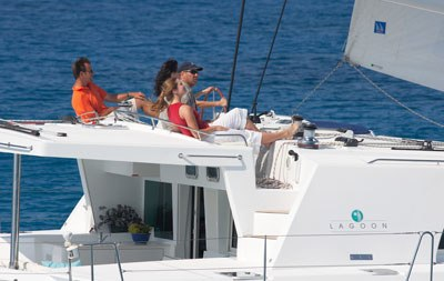 Puerto Aventuras Catamaran Lagoon 500 Luxury Sailing To
