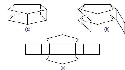Cara Membuat Jaring Jaring Kubus, Balok dan Bangun Ruang ...
