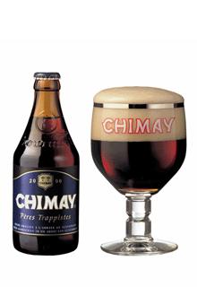 Cerveza Trapense Chimay Azul