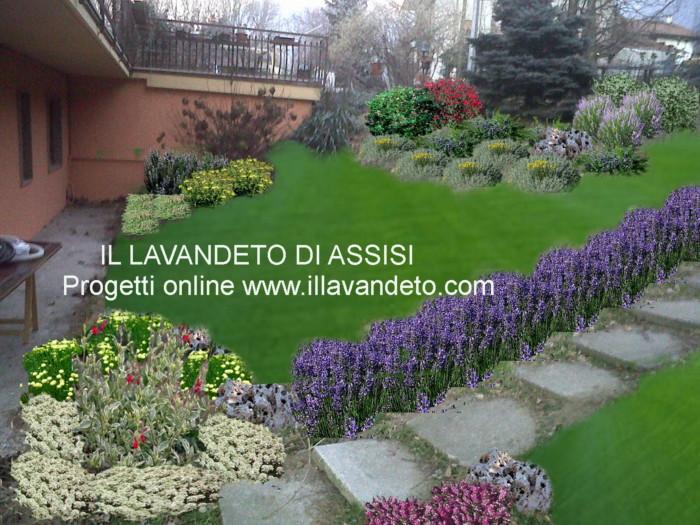 Progetti gratuiti per giardini fioriti e profumati - Progetti giardino per villette ...