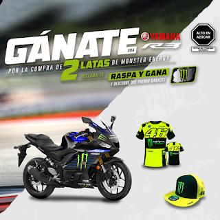 Raspa y Gana una moto Yamaha R3