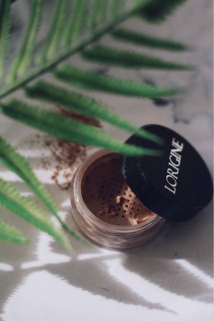 bronzer mineralny