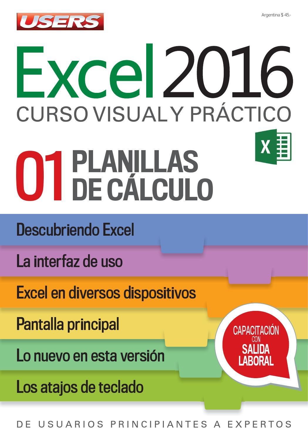 Excel Curso Users Excel Curso Visual Y Pr 225 Ctico T Aliviano
