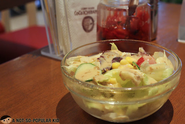 House salad CoCo Ichibanya