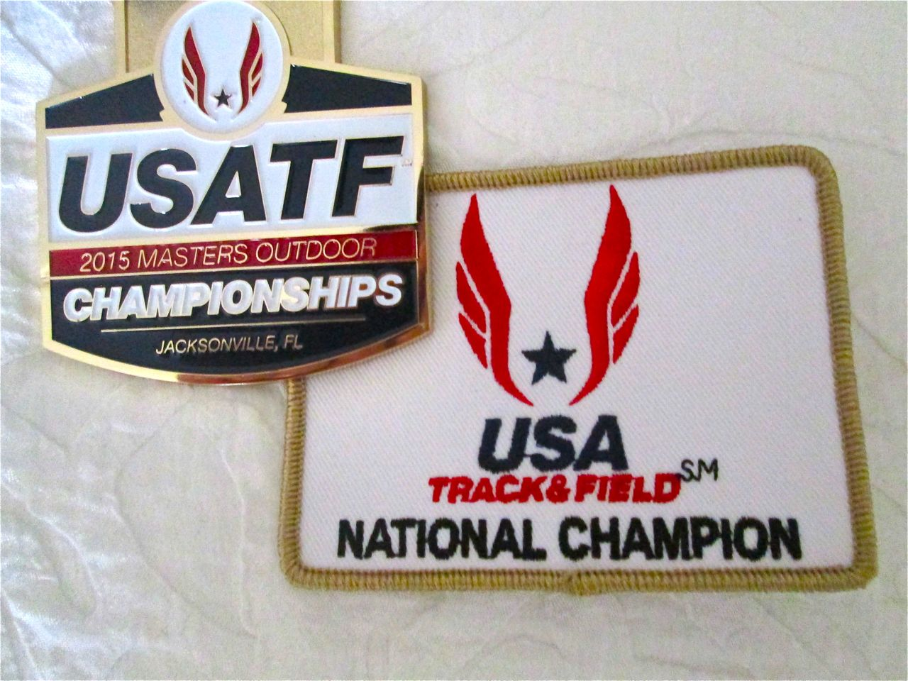 2015 National Champion USATF M55 outdoor 400m