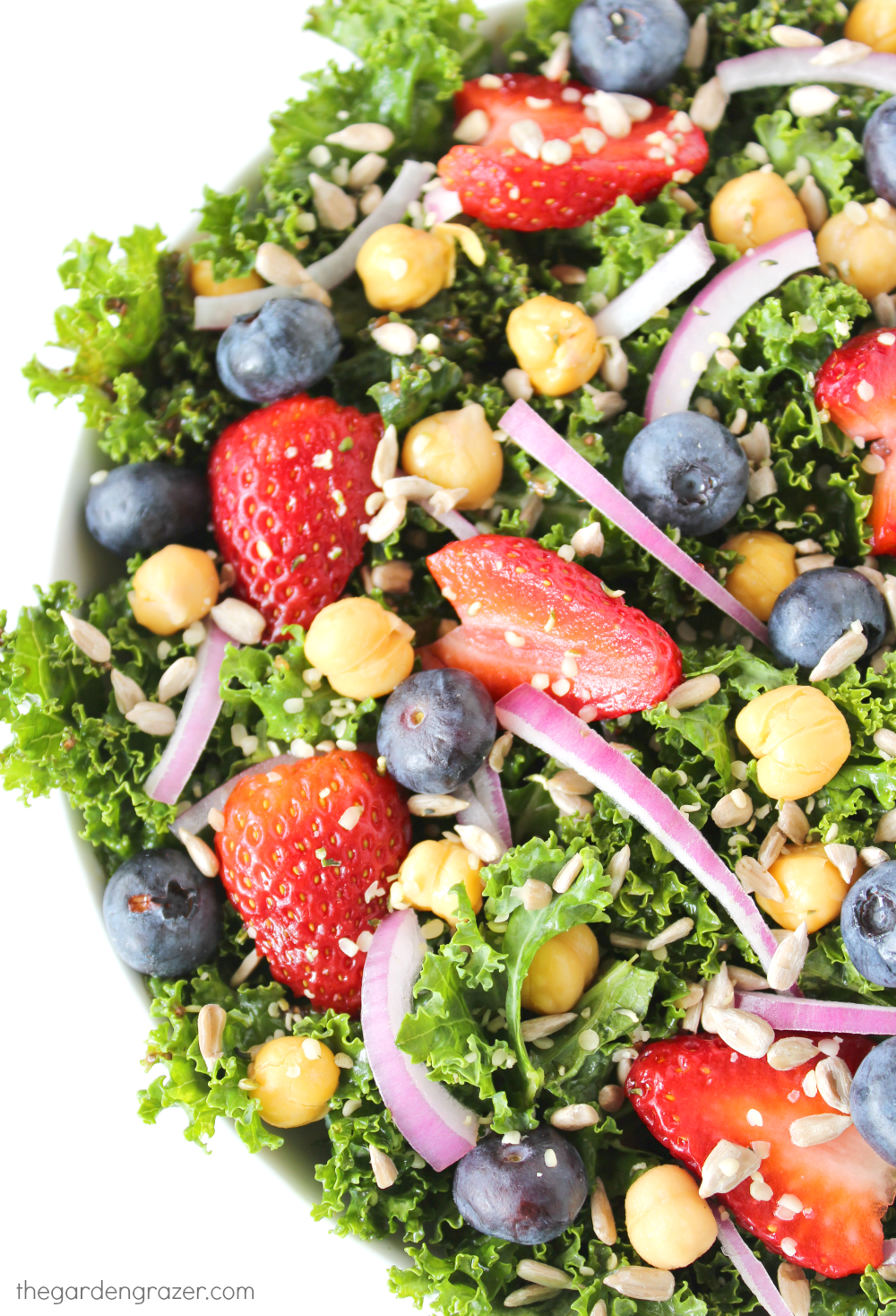 The Garden Grazer: Super Immunity Power Salad