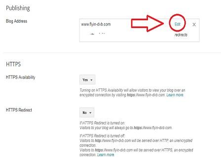 edit custom domain