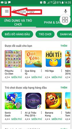 Hướng dẫn mua ứng dụng Google Play Mobifone