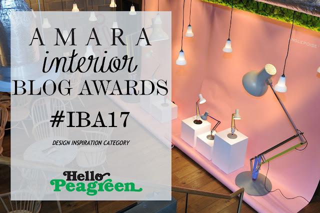 Amara interior blog awards 2017 #IBA17