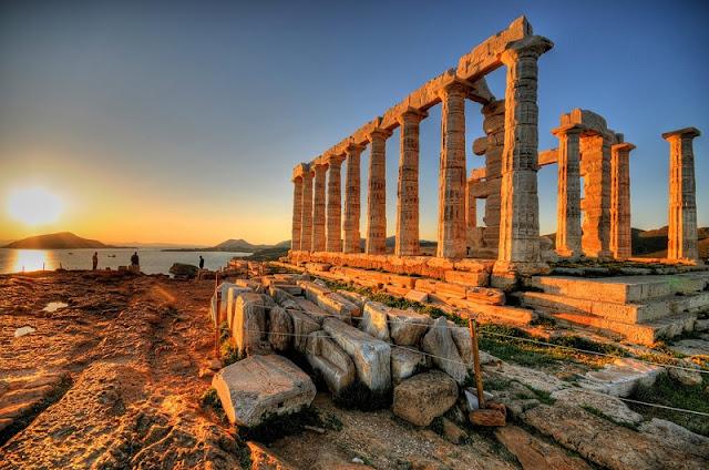 Praia Cabo Sounion, Atenas