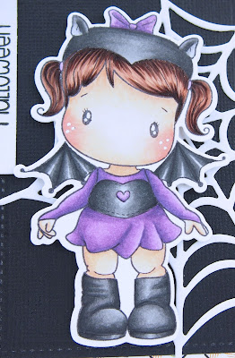 Heather's Hobbie Haven - Batty Birgitta Card Kit