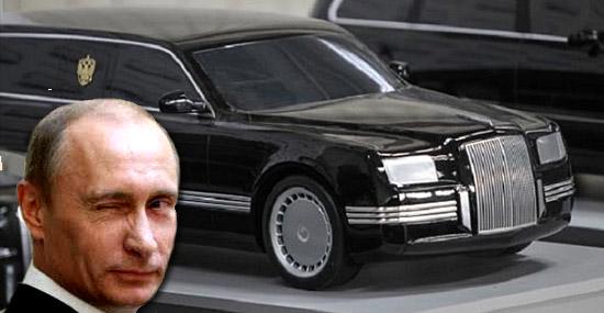 Direto da Rússia - conheça a nova limosine Porche de Vladimir Putin