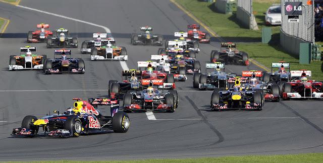 Formula 1 Australian Grand Prix race