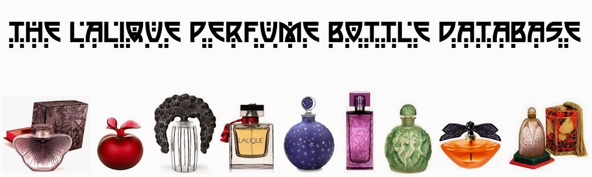 The Lalique Perfume Bottle Database