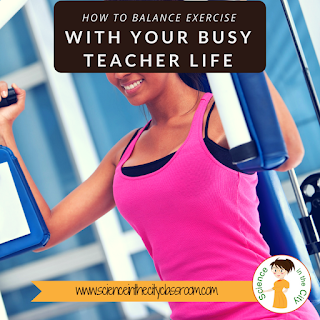 Tips to fit in exercise quickly and cheaply for a teacher or mom~