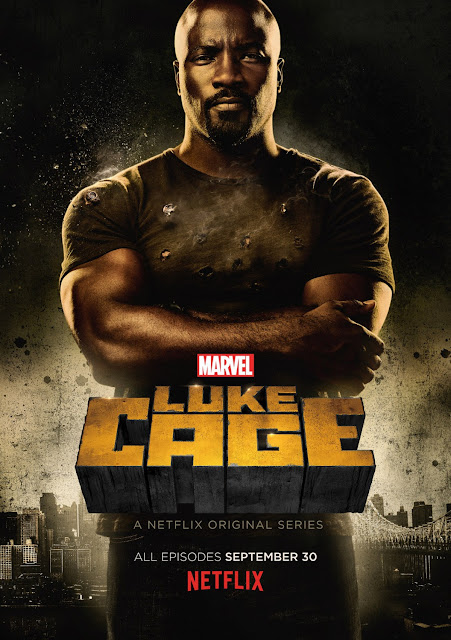 Marvel's Luke Cage One Sheet Television Poster by Netflix