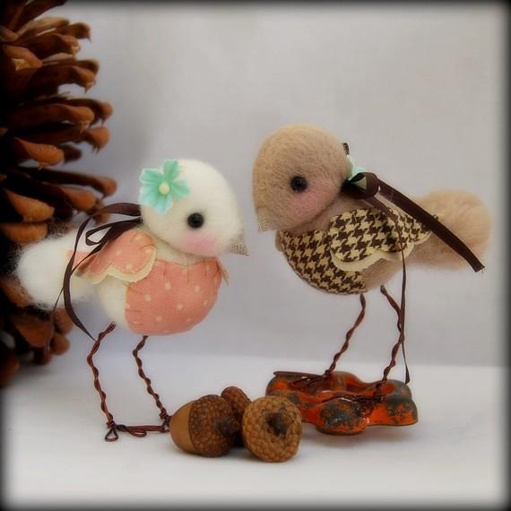 Keçe kuşlar