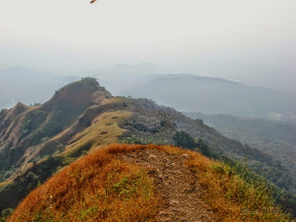 View From the Mahadevgad Point Ambolim - Hill station near Goa - Pick, Pack, Go