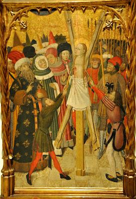 mujeres crucificadas crucified women santa eulalia bernat martorell mnac