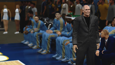 NBA 2K13 Denver Coach George Karl Face Mod