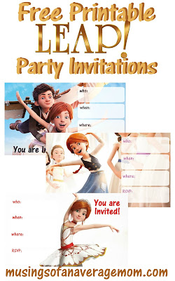 Leap! movie party