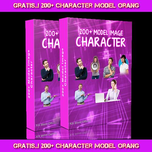 Dapatkan Gratis 200+ Character Model Orang di 085287733099