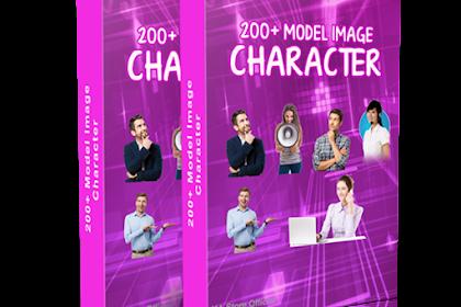 Dapatkan Gratis Character Model Orang