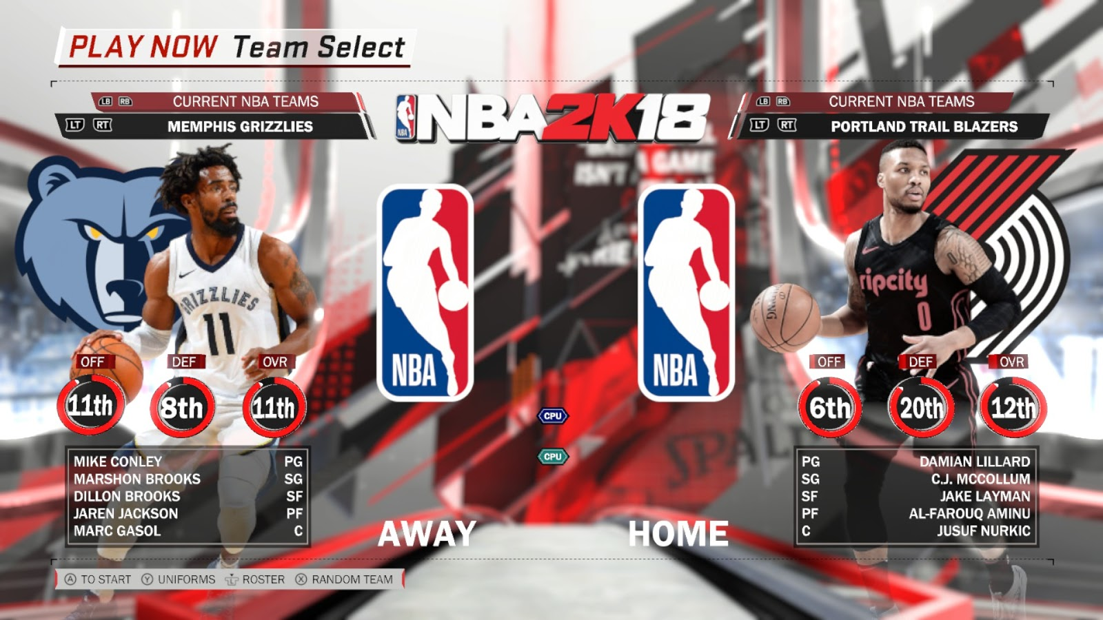 NBA2K18 Teams to watch in v4 3 Roster Update