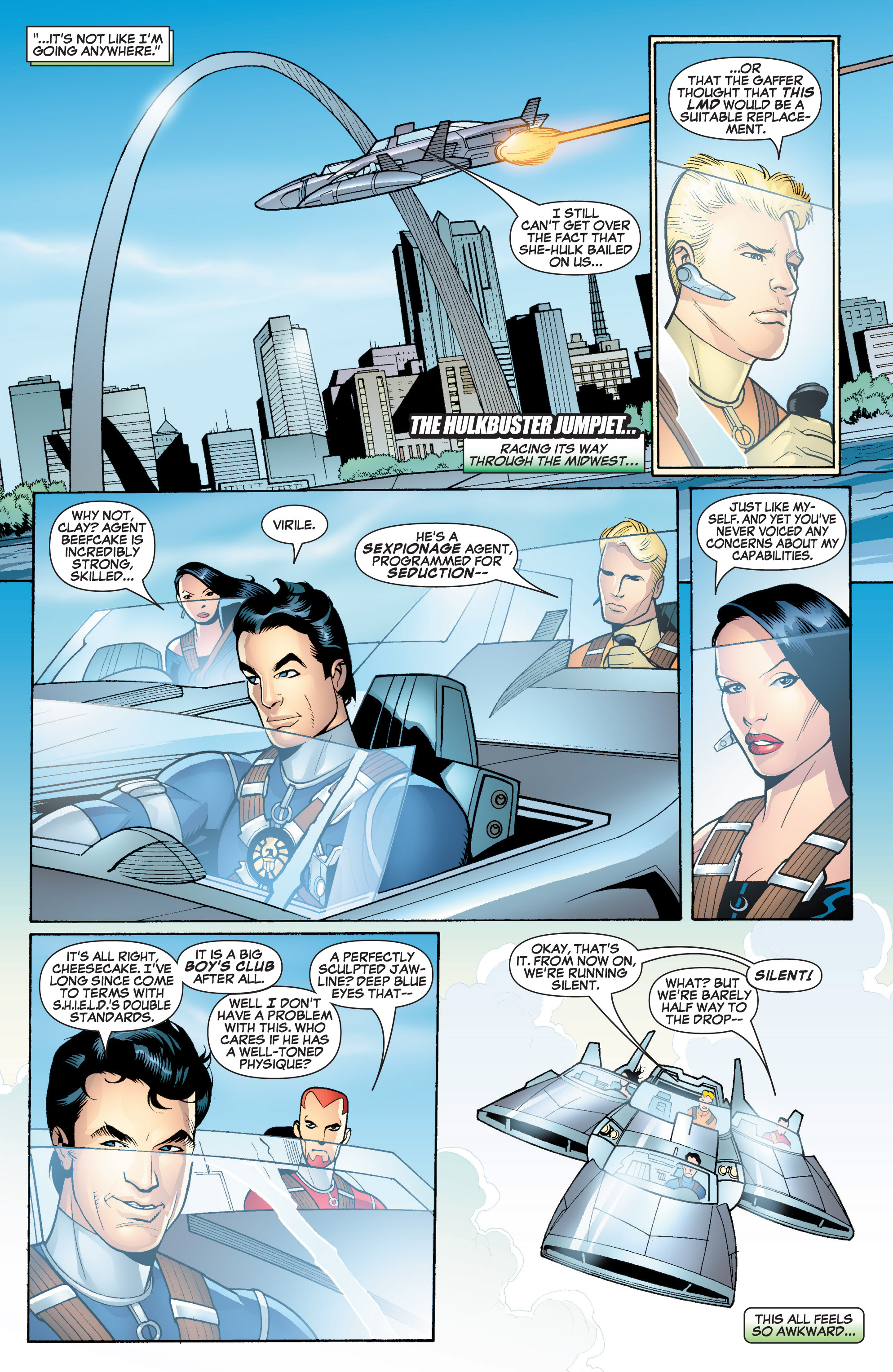 Read online She-Hulk (2005) comic -  Issue #18 - 6