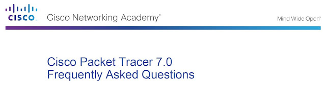 Frequently Asked Questions of Cisco Packet Tracer 7