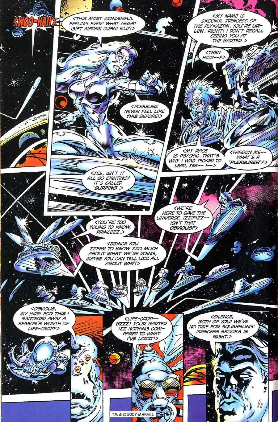Read online Silver Surfer (1987) comic -  Issue #117 - 6