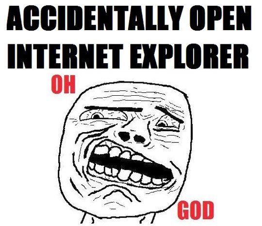 open internet explorer