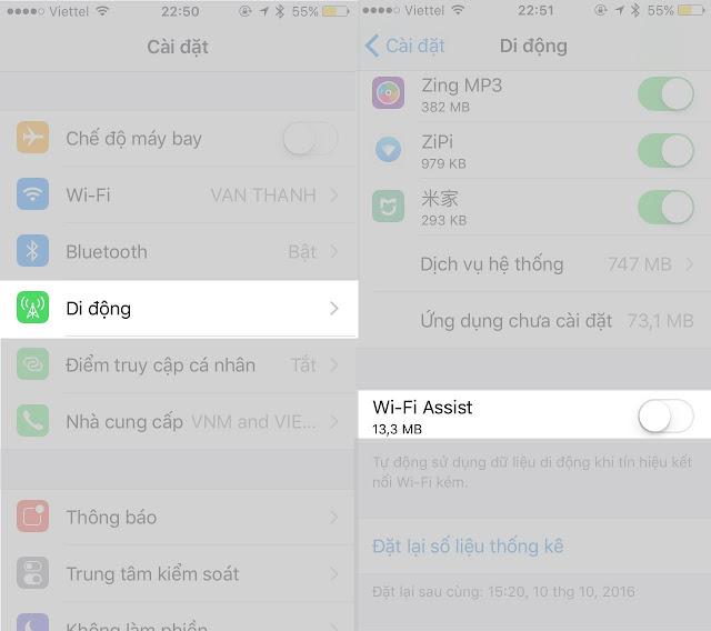 4 cách đơn giản để tiết kiệm 3G trên iPhone