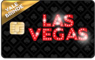 Tarjeta con forma de Visa de Fiesta de Las Vegas.