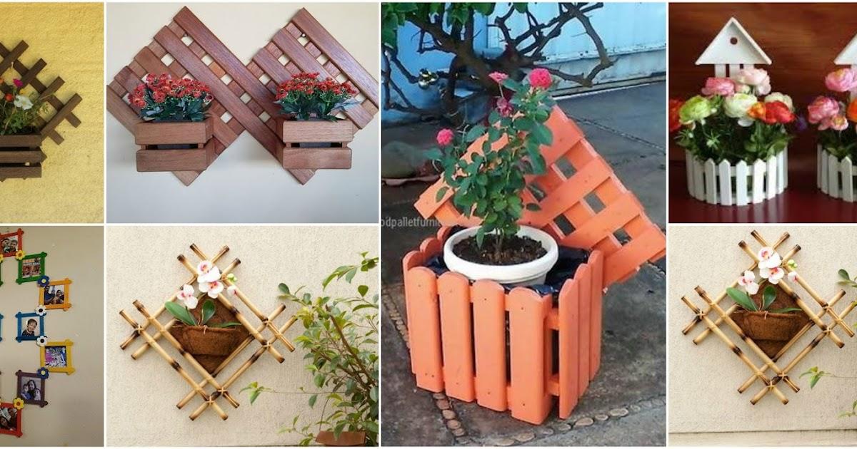 8 hermosos adornos colgantes para tu hogar usando piezas for Adornos de madera para pared