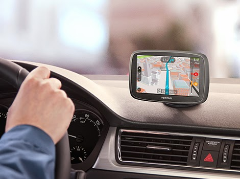 Garmin and TomTom for GPS