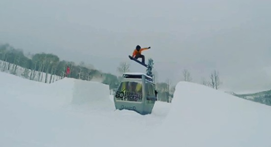 Promessa da CBDN estreia com grande resultado no Snowboard