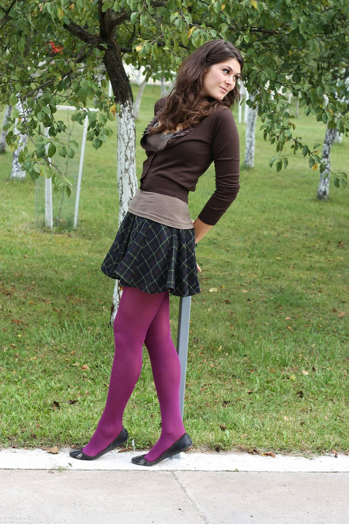 Dress With Tights Fashion