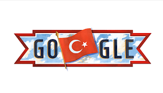 29 Ekim Cumhuriyet Bayramı Google Doodle